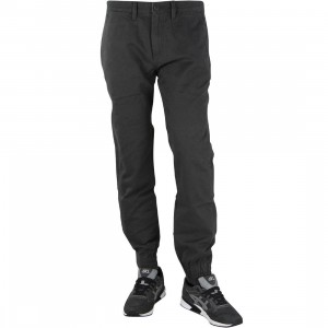 Vans Men Excerpt Chino Pegged Jogger Pants (black / pirate black)