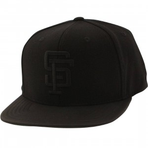 American Needle MLB San Francisco Giants Snapback Cap - Tonalism (black)