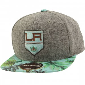 American Needle NHL Los Angeles Kings Snapback Cap - Night Bright (gray)