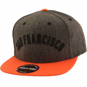 American Needle MLB San Francisco Giants Snapback Cap - Flak (brown / orange)
