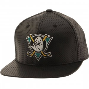 American Needle NHL Anahiem Mighty Ducks Snapback Cap - Delirious (black)