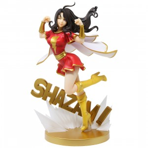Kotobukiya DC Comics Mary Shazam! Family Bishoujo Statue (red)
