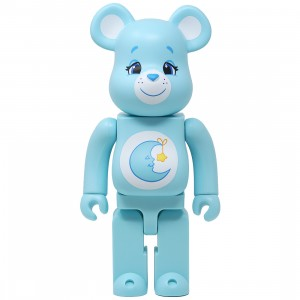 Medicom Care Bears Bedtime Bear 400% Bearbrick Figure (blue)