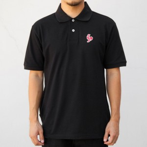 BAIT x Sriracha Polo Shirt (black)