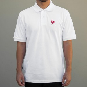 BAIT x Sriracha Polo Shirt (white)