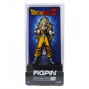 FiGPiN Dragon Ball Z Super Saiyan 3 Goku #222 (yellow)