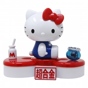 Bandai Chogokin Hello Kitty 45 Anniversary Figure (red)