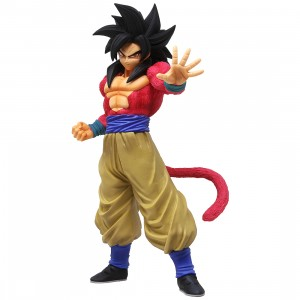 Bandai Ichiban Kuji Dragon Ball Super Saiyan 4 Son Goku Figure (black)