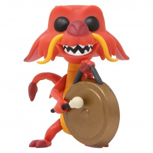 Funko POP Disney Mulan Mushu With Gong (red)