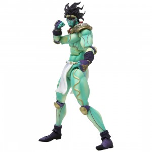 Medicos Entertainment Super Action Statue JoJo's Bizarre Adventure Star Platinum Figure Re-Run (green)