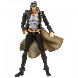 Medicos Entertainment Super Action Statue JoJo's Bizarre Adventure Jotaro Kujo Ver.1.5 Figure Re-Run (gray)