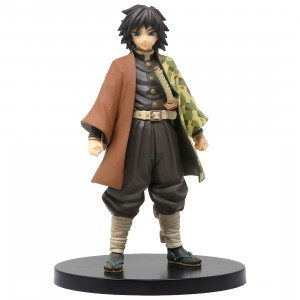 Banpresto Kimetsu no Yaiba Figure Vol. 6 Giyu Tomioka Figure (black)