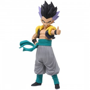 Banpresto Dragon Ball Z Grandista Resolution of Soldiers Gotenks Figure (gray)