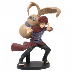 Banpresto Naruto Shippuden Vibration Stars Vol. 4 Gaara Figure (red)