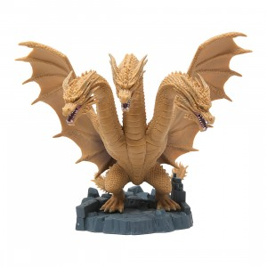 Banpresto Godzilla King Of The Monsters Deformation King - King Ghidorah 2019 Figure (gold)