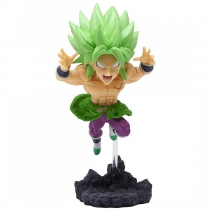 Banpresto Dragon Ball Super World Collectable Diorama Vol. 4 - C Super Saiyan Broly Full Power (green)
