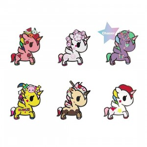 Tokidoki Unicorno Collectible Enamel Pin - 1 Blind Box