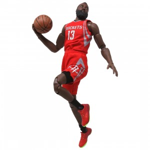 NBA x Enterbay James Harden 1/9 Scale 9 Inch Figure (red)