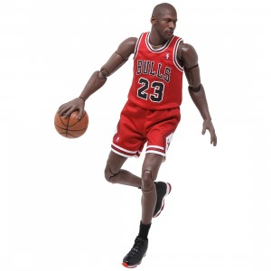 NBA x Enterbay Michael Jordan 1/9 Scale 9 Inch Figure (red)