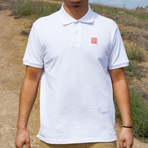 BAIT x GI Joe Storm Shadow Polo Shirt (white)