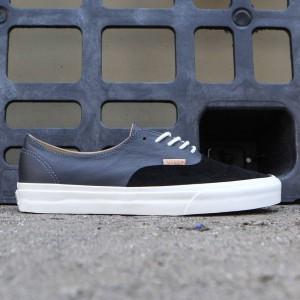 Vans Men Authentic Deconstructed DX - Pig Suede (black / asphalt)