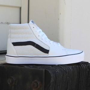 Vans Men Sk8-Hi Lite - Perf (white)