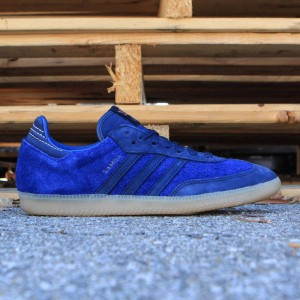 Adidas Consortium x Starcow Men Samba (navy / dark blue / night indigo)