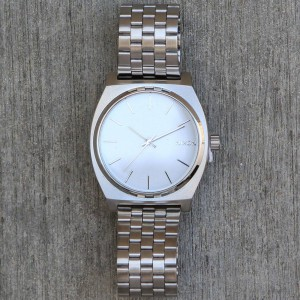 Nixon Time Teller Watch (white)