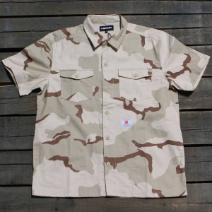 Undefeated Men Camo BDU Shirt (camo)