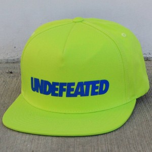 Undefeated Undefeated Cap (green / neon)