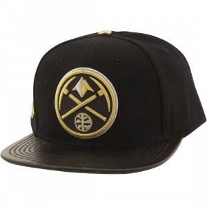 Pro Standard x NBA Denver Nuggets Logo Reflective Cap (black)
