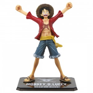 One Piece Monkey D Luffy Figuarts Zero New World Figure (red)
