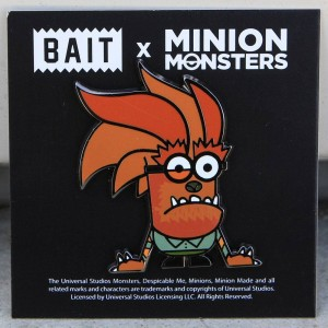 BAIT x Minion Monsters Werewolf Pin (brown)