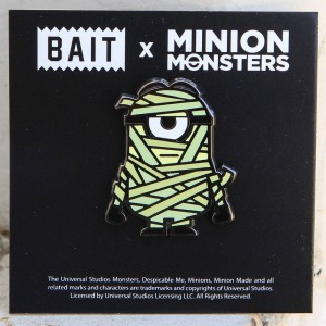 BAIT x Minion Monsters Mummy Pin (green)