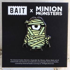 BAIT x Minion Monsters Mummy Pin (green)