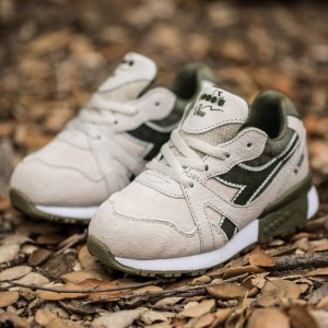BAIT x Diadora x Dreamworks Toddlers N9000 Shrek - COPA (gray / grey turbine)