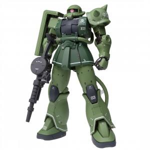 Bandai Mobile Suit Gundam The Origin Gundam Fix Figuration Metal Composite MS-06C Zaku II Type C Figure (green)