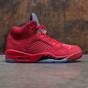 Air Jordan 5 Retro Men (university red / black)