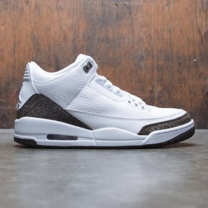 Air Jordan 3 Retro Men (white / dark mocha-chrome)
