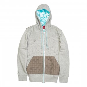 Air Jordan Fusion AJ12 LS Hoody Men (gray)