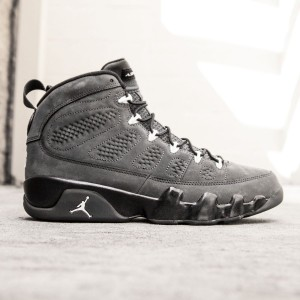 Air Jordan 9 Retro Men (gray / anthracite / white / black)