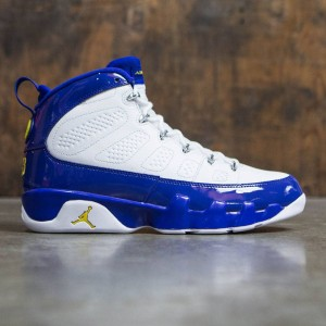 AIR JORDAN 9 RETRO Men (white / tour yellow-concord)