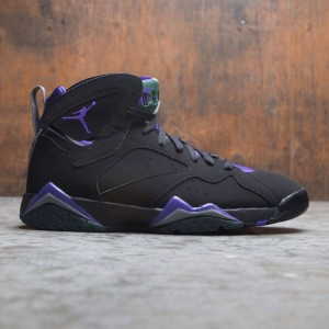 AIR JORDAN 7 RETRO Men (black / field purple-fir-dark steel grey)