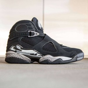Air Jordan 8 Retro Men (black / light graphite / white)