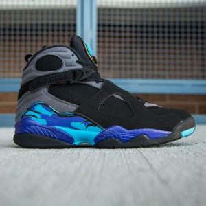 Air Jordan 8 Retro Men (black / grey)