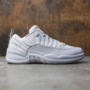 Air Jordan 12 Retro Low Men (wolf grey / armory navy-electrolime)