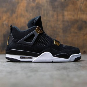Air Jordan 4 Retro Men (black / metallic gold-white)