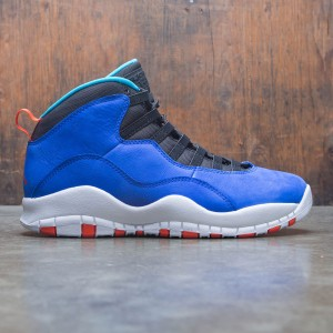 Air Jordan 10 Retro Men (racer blue / team orange-black)