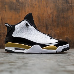 Air Jordan Dub Zero Men (black / white-metallic gold)