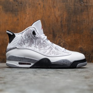 Air Jordan Dub Zero Men (white / varsity red-cement grey-black)